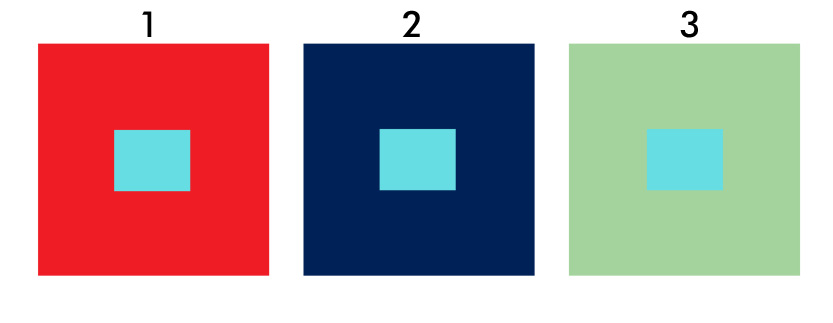 värikuvan kontrastiesimerkki