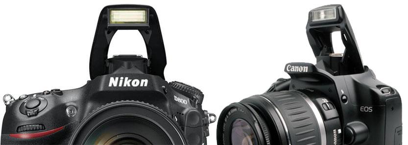 kameran sisäänrakennettu salama